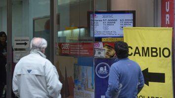 La city. El mercado cambiario de Rosario operó ayer con calma.