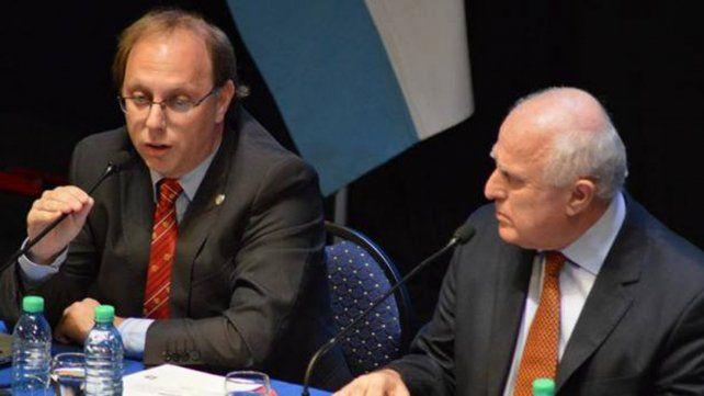 socialistas. El gobernador Miguel Lifschitz