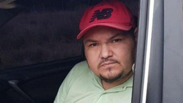 Luis Gordo Saucedo al ser detenido.