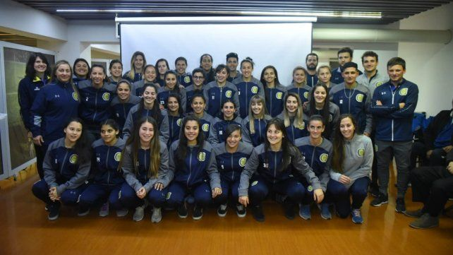 Central presentó el equipo femenino que jugará en la Primera de AFA