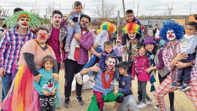 Festejos. En Empalme Graneros se necesitan voluntarios que quieran pasar un rato con los más pequeños.