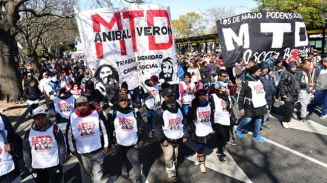 Movilizados. A diario los movimientos sociales toman las calles para exigir la atención del gobierno.