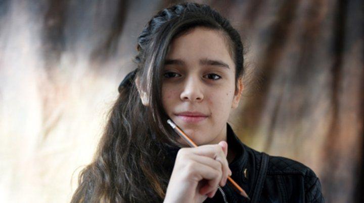 Desde principios de año Bianca asiste al taller de cómic de la Biblioteca Cachilo.