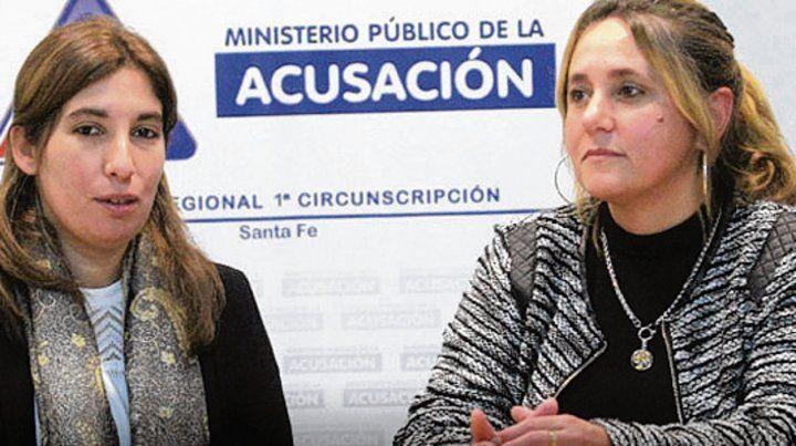 Las fiscales. Jiménez y Urquiza