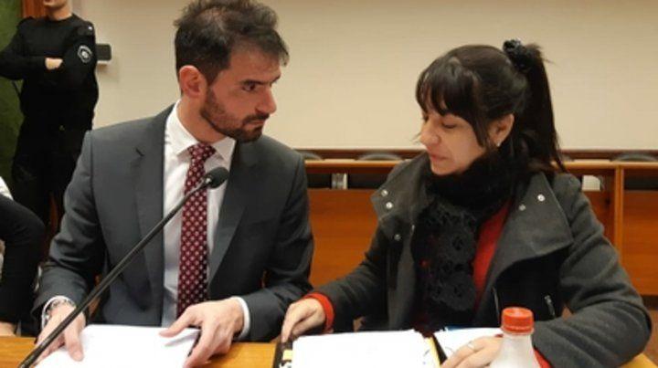 acusadores. Los fiscales Grimberg y Del Río Ayala