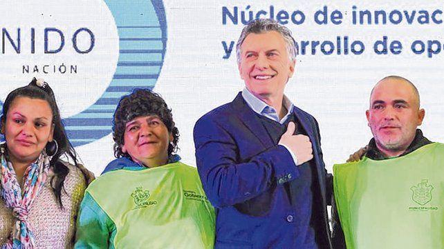de local. Córdoba es uno de los pocos distritos donde Macri se impuso en las recientes primarias.