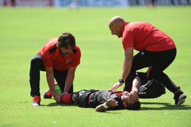 Brian Sarmiento demandó a Newell`s por un accidente laboral