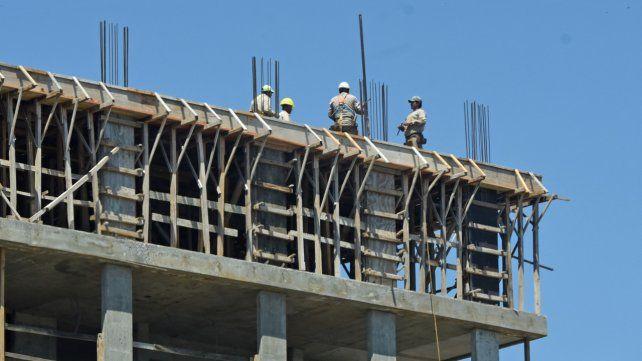En 6 meses la construcción bajó 13,4% en la provincia