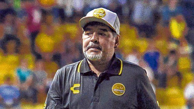 En marcha. Diego aceptó el desafío de dirigir a Gimnasia en un momento complejo con el promedio. Vuelve al fútbol argentino.
