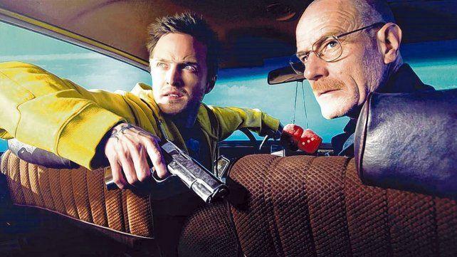 La historia continúa. Aaron Paul y Bryan Cranston en Breaking Bad. Ahora Paul será el protagonista de El Camino
