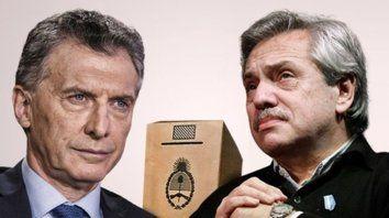 dos caras. Macri no hará prácticamente actos de campaña y se concentrará en la gestión. Fernández ya se muestra como virtual presidente.