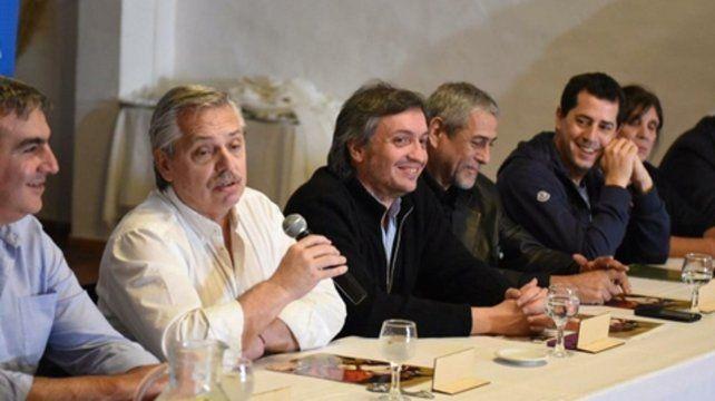 Calma. Alberto Fernández criticó las descalificaciones que suelen hacerse sobre La Cámpora.