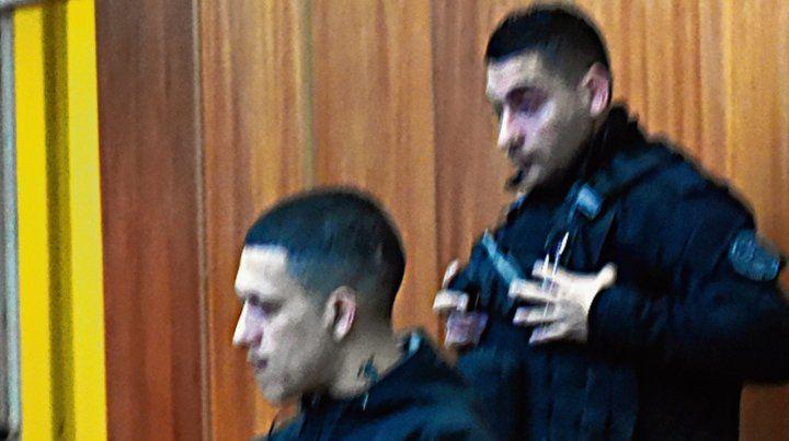 Banquillo. Contreras fue condenado en un juicio oral y público.