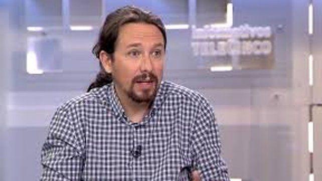 Pablo Iglesias líder de Podemos.