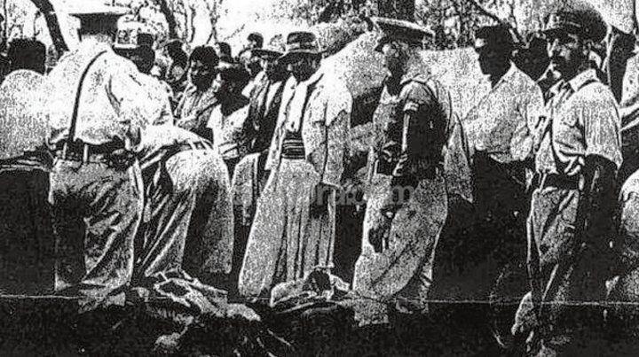 Masacre de Napalpí. Unos 700 aborígenes asesinados en el Chaco.