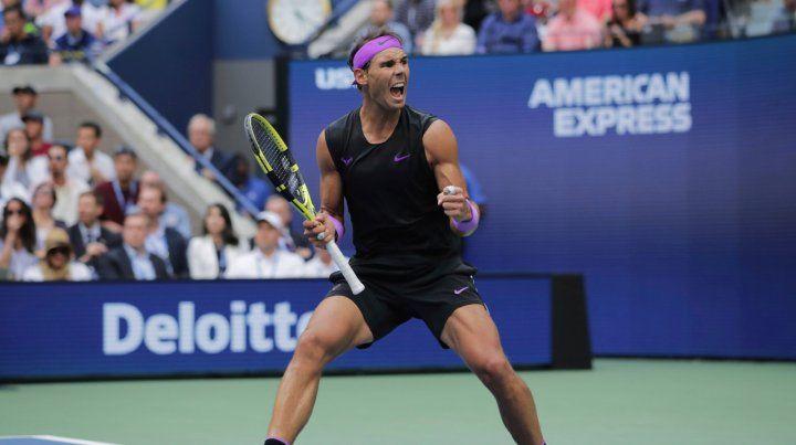 Nadal derrotó al ruso Medvedev y suma 19 Grand Slam