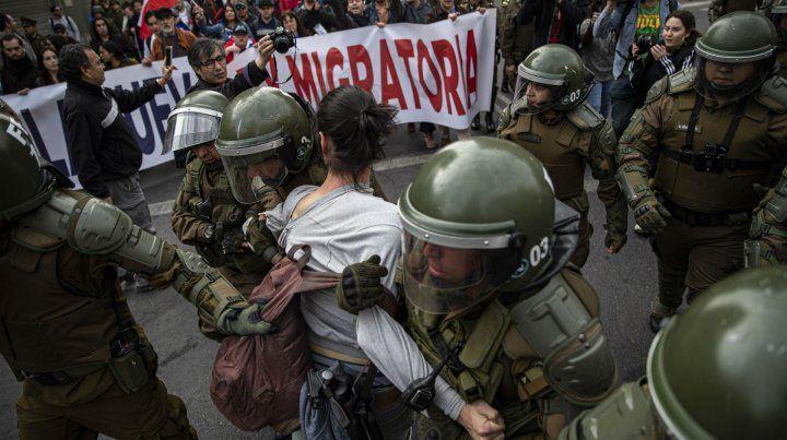 Incidentes en Chile durante el 46º aniversario del golpe de Pinochet