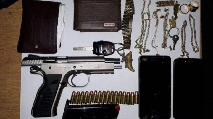 Prisión preventiva para el hijo de Pipi Andrada por portación de armas
