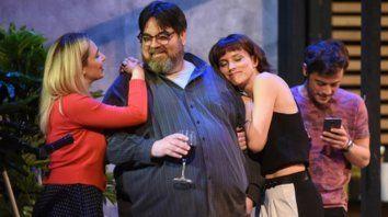 Del drama a la comedia. Los protagonistas de la obra lograron una contínua empatía con el público.