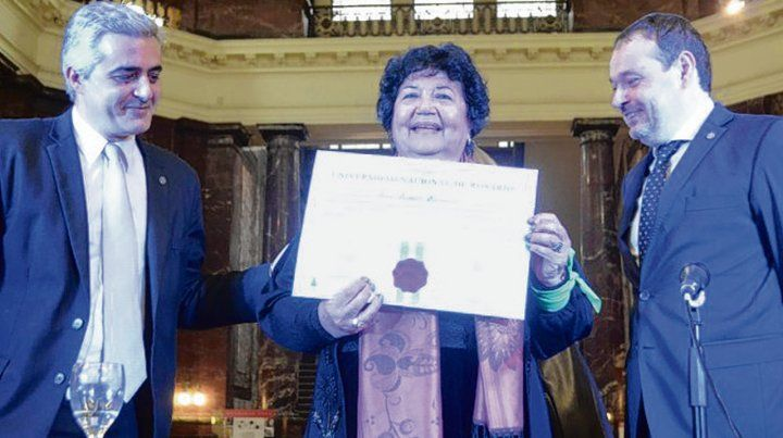 Diploma. Dora Barrancos