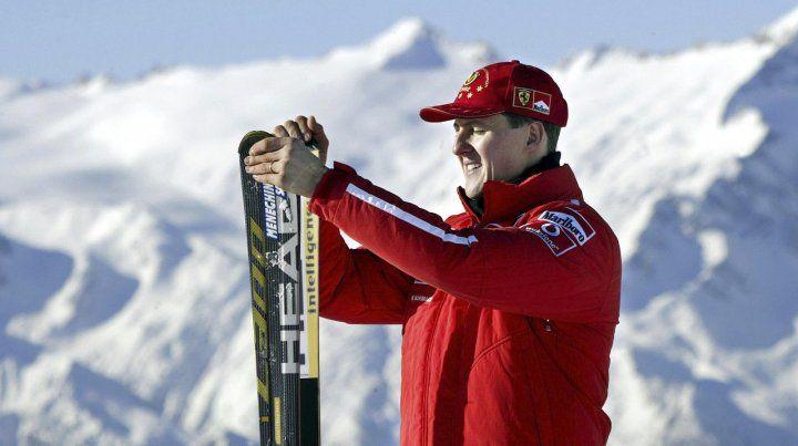 Schumacher se somete a un tratamiento secreto en un hospital de París