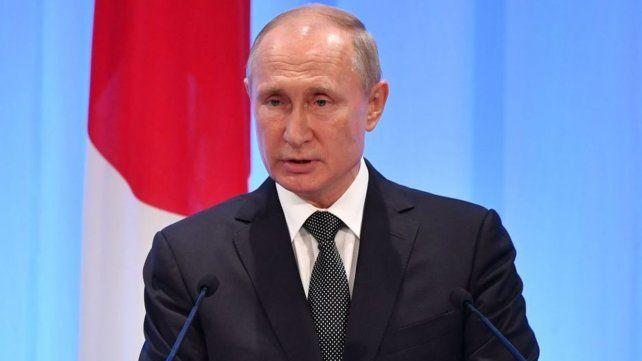 El ruso Vladimir Putin es un estrecho aliado del régimen islámico de Irán.