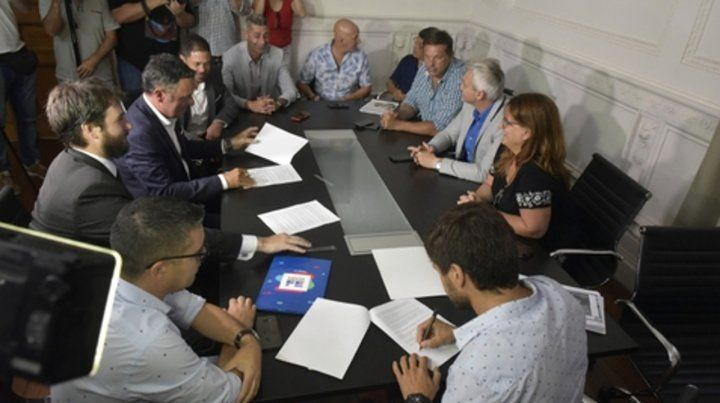 Reunión cumbre. Estarán algunos dirigentes y los abocados al operativo de seguridad.