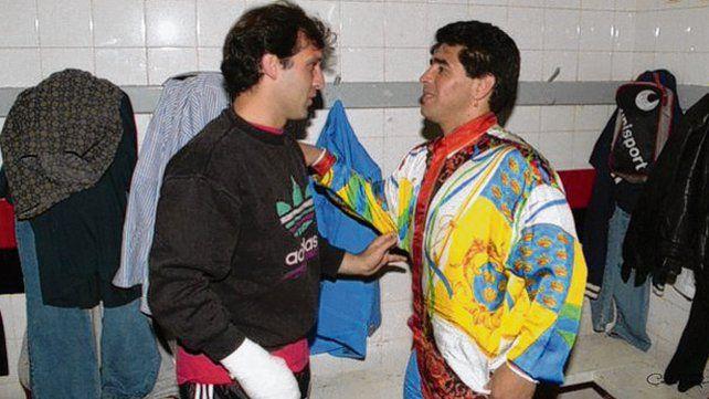 Historia compartida. Martino y Maradona