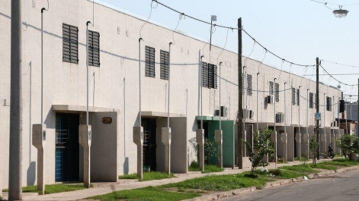 bajo la lupa. El gobierno provincial finalizó 500 viviendas que fueron sorteadas y están por ser adjudicadas.