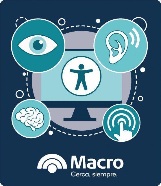 Banco Macro incorpora herramientas de accesibilidad