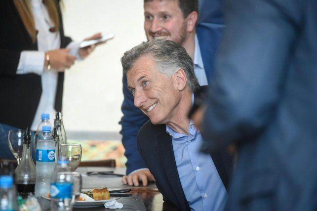Podemos mejorar, la frase de Macri en su fugaz paso por Fisherton para almorzar