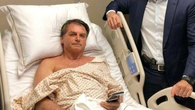 Convaleciente. Jair Bolsonaro.