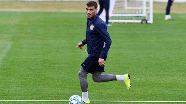 De punta. Sebastián Ribas tendría la chance de jugar el primer partido como titular en el canalla.