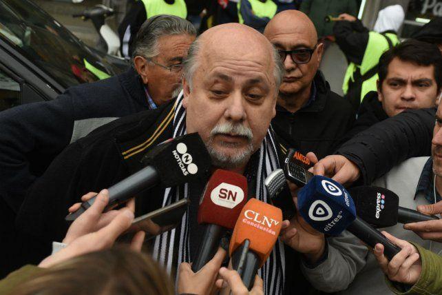 El titular del Sindicato Peones de Taxis (SPT) Horacio Yannotti recibió esta tarde