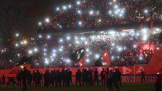 Una vez más se vivió a pleno la comunión entre los jugadores y el pueblo Leproso.