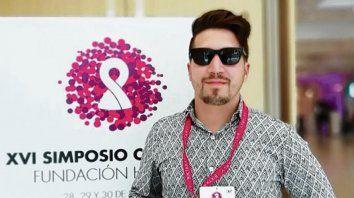 Compromiso y acción. Matías Chaves es el coordinador del área de Verticales de una red de jóvenes positivos.