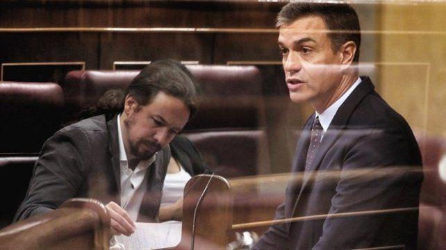 Sin diálogo. Pablo Iglesias y Pedro Sánchez no han construido una relación personal fructífera.