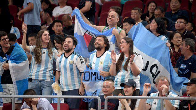 Argentina le ganó a Francia y juega la final con España