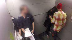 La joven fue atacada y manoseada en un ascensor de un edificio céntrico. (Foto de archivo)