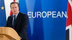 El expremier británico David Cameron.