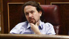 Frustrado. Pablo Iglesias, caudillo de Podemos, apuesta a una coalición con el socialismo. Sin éxito.