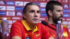 Será un partido a cara de perro, dijo el entrenador de España
