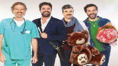 Facundo Arana, Luciano Castro, Daniel Hendler y Nicolás Francella son los galanes de esta historia de amor.