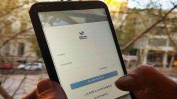 Aplicación. La empresa sacó una herramienta para realizar gestiones desde el celular.