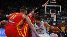 Argentina cayó contra España en la final del Mundial de básquet
