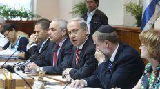 Netanyahu hizo una reunión de gabinete en territorio palestino ocupado