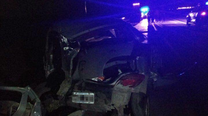Un muerto en un violento choque en la ruta nacional AO12