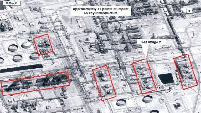 EEUU y Arabia Saudita acusan a Irán de los ataques con drones