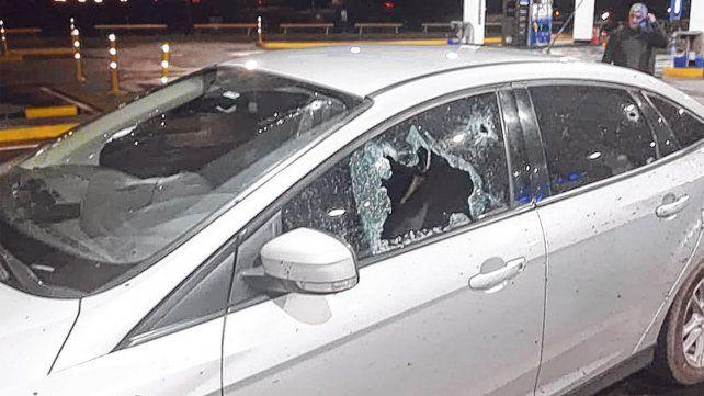 Herido. Mariano Valdes fue baleado el 9 de septiembre cuando había detenido su auto cerca de Villa Constitución.