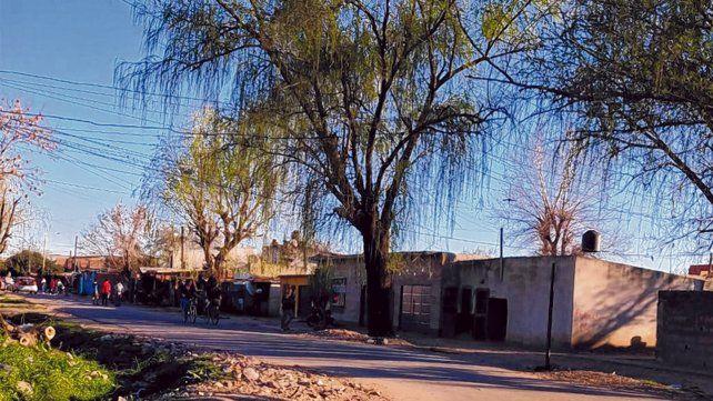 Zona sudoeste. El crimen de Arias ocurrió la noche del domingo en un pasillo de Manantiales y 24 de Septiembre.